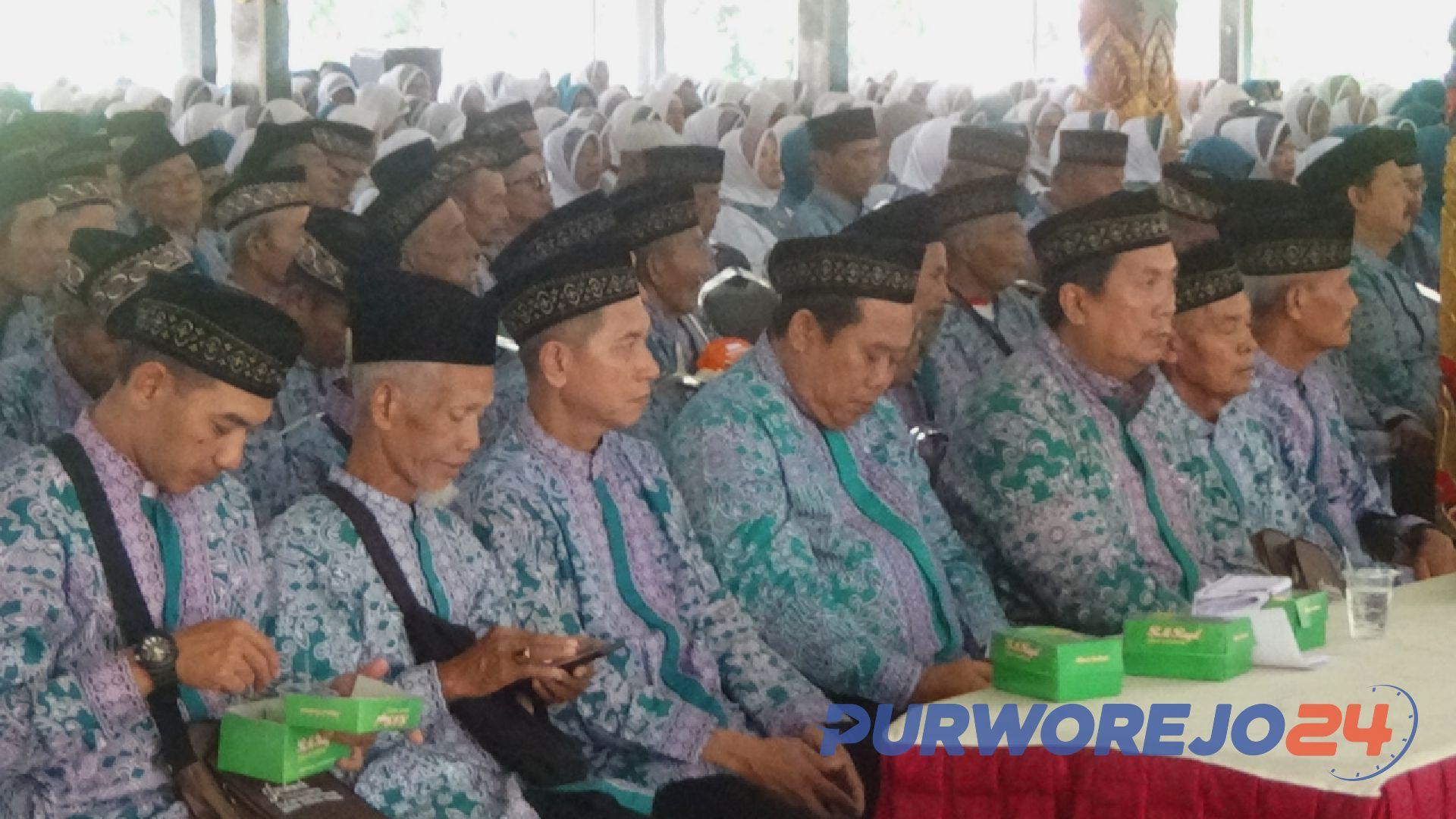 805 orang Calon Jamaah Haji Kabupaten Purworejo 2019 siap diberangkatkan
