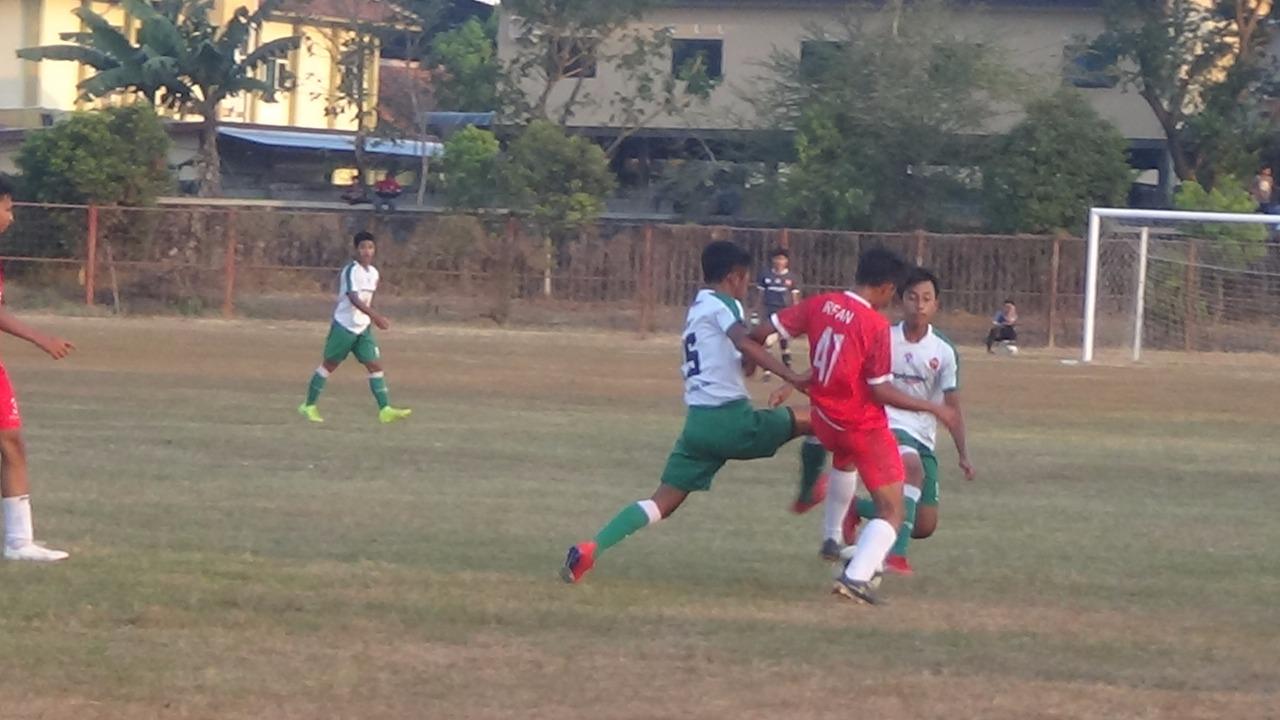 ISP kalahkan Timnas Pelajar U-16 dengan skor 1:0, Selasa (30/7/2019)