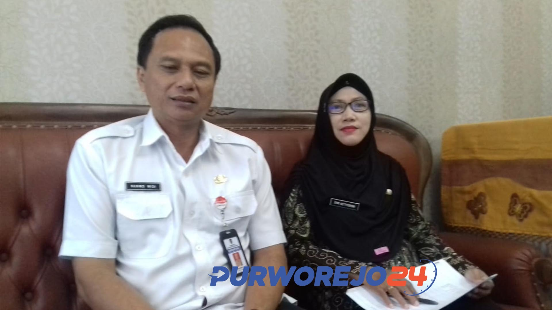 Kepala Dindikpora Purworejo, Sukmo Widi Harwanto.