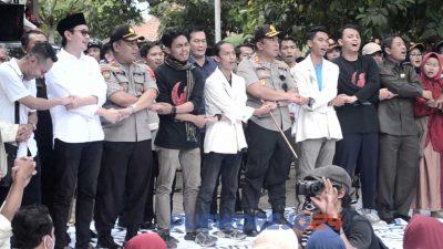 Aksi demo Aliansi Mahasiswa UMP dan AMM. (3/10/2019)