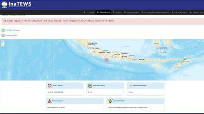 BPBD imbau warga Purworejo tak panik terjadinya gempa dan erupsi Gunung Merapi. (14/10/2019)