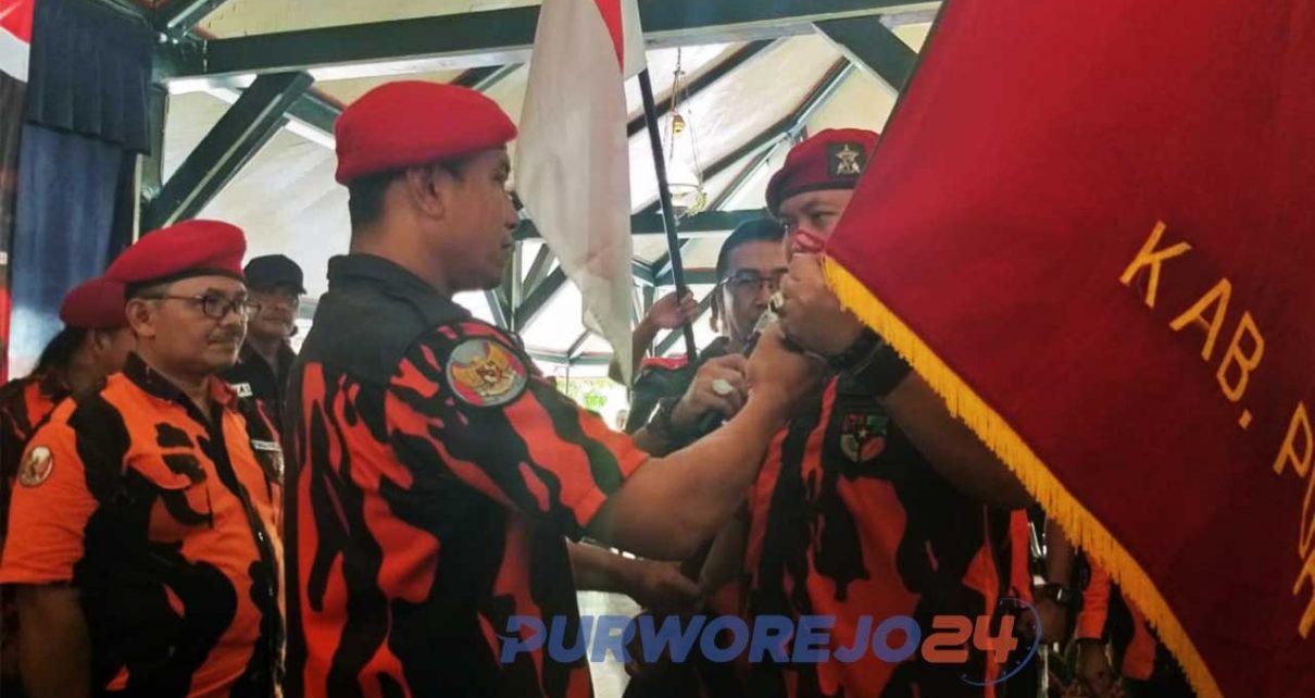 Sujito dilantik sebagai Ketua MPC PP Purworejo periode 2019-2023