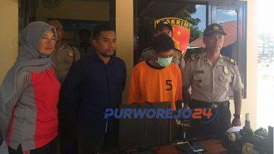 Gelen residivis Nusakambangan ditangkap karena mencuri.