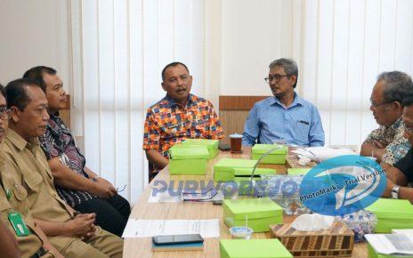 Rakor Penyepakatan Batas Wilayah antara pemkab Purworjeo dan Pemkab Kulonprogo