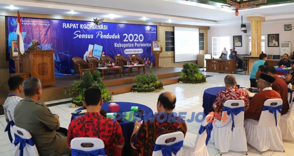 Rakor Sensus Penduduk 2020 Purworejo,. (6/2/20202)