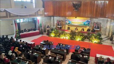 Sidang Paripurna Istimewa DPRD Purworejo. (Foro.Dok)