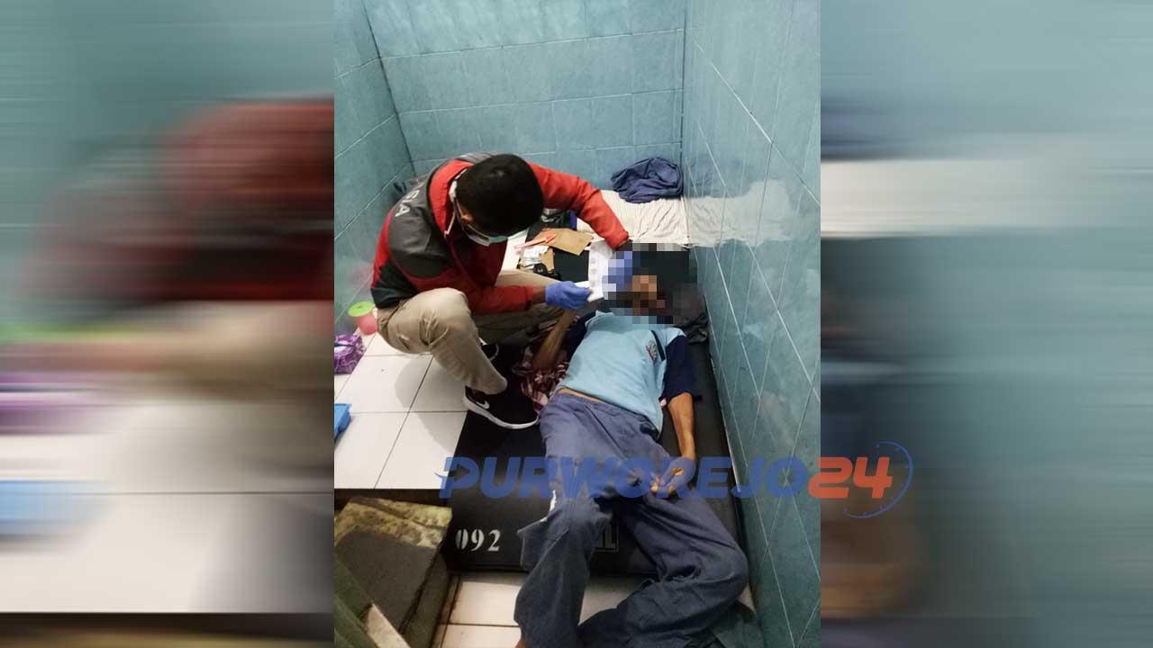 Seorang Warga Binaan Rutan Purworejo Ditemukan Meninggal Dunia. (16/2/2020)