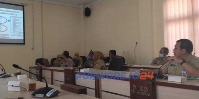 Rapat Badan Anggaran DPRD bersama Tim Anggaran Pemerintah Daerah (TAPD) Kab. Purworejo.