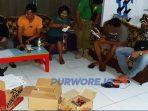 Patroli Satpol PP Damkar Purworejo ke sejumlah kafe karaoke.