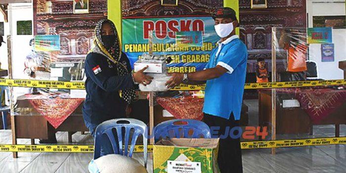 Penyerahan bantuan APD dari IAI dan Pengusaha Kutoarjo