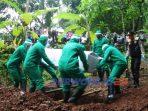 Polres Purworjeo melakukan simulasi pemakaman korban Covid-19