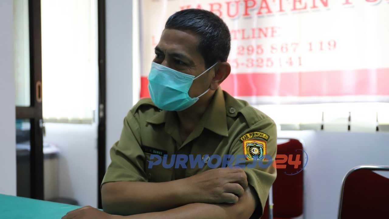 dr. Darus, juru bicara tim gugus tugas penanganan Covid-19 Kab Purworejo