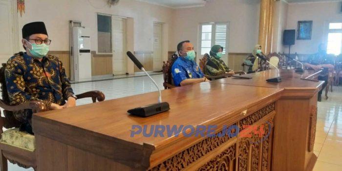 Jumpa Pers Pemkab Purworjeo terkait penanganan Covid-19. (29/5/2020)