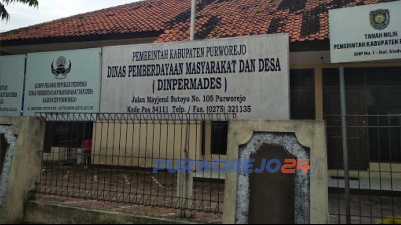 Kantor Dinpermades Kabupaten Purworejo