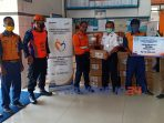 PT KAI salurkan bantuan 10.000 paket sembako senilai 1 miliar rupiah.