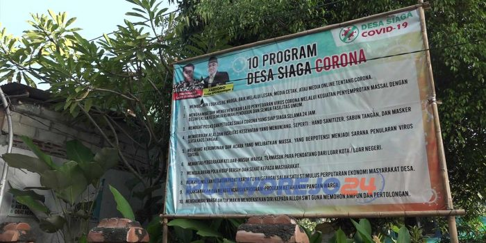 Program Desa Siaga Corona