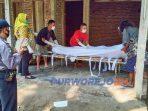 Warga Desa Pekacangan, Kecamatan Pituruh ditemukan meninggal dunia di rumahnya.