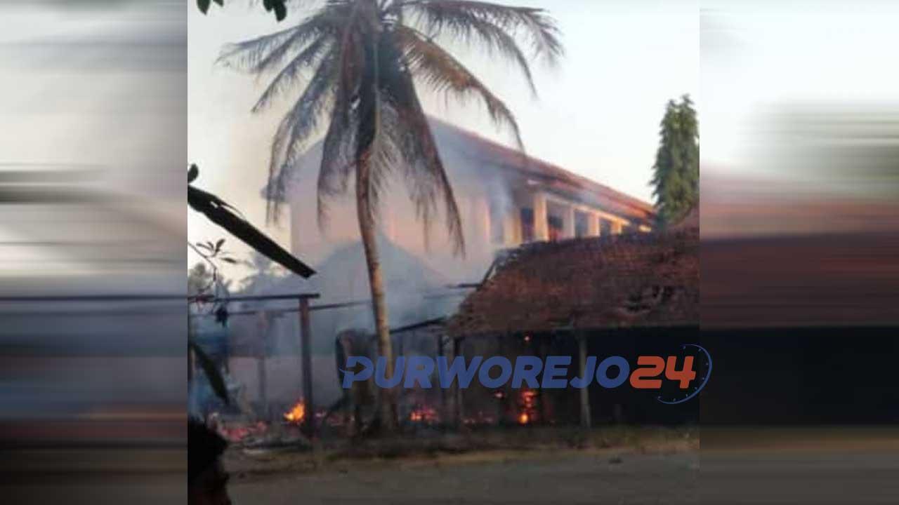 Kebakaran di SMP N 7 Purworejo