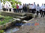 Saluran irigasi di desa Kepuh kecamatan Kutoarjo, Purworejo
