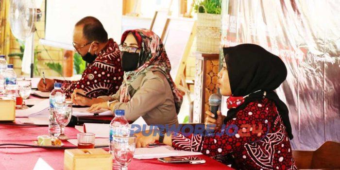 Sosialisasi tahapan Pencalonan (pendafataran pasangan calon) pada Pemilihan Bupati dan Wakil Bupati Purworejo tahun 2020, Kamis (6/8/2020)
