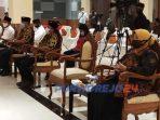 Agus Bastian tidak hadir dalam acara pengundian no urut peserta Pilkada Purworejo 2020. (24/9/2020)