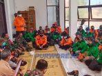 Apel Penutupan Operasi Pencarian nelayan tenggelam di Pantai Jatikontal. (14/9/.2020)