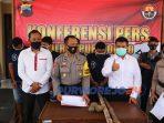 Polisi menangkap 5 orang tersangkasu penganiayaan di desa Plipiran, Bruno - Purworejo