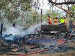 Rumah terbakar di Malangrejo Kecamatan Banyuurip, Purworejo. (20/9/2020)