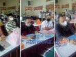 Tiga Bapaslon Bupati-Wakil Bupati Purworejo mengikuti pemeriksaan kesehatan di RSUP Dr Soeradji Tirtonegoro Klaten.