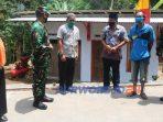 Komandan Kodim 0708 Purworejo Letkol Infanteri Lukman Hakim bersama Forkompinda Kabupaten Purworejo dan dinas instansi terkait meninjau lokasi TMMD. (20/10/2020)