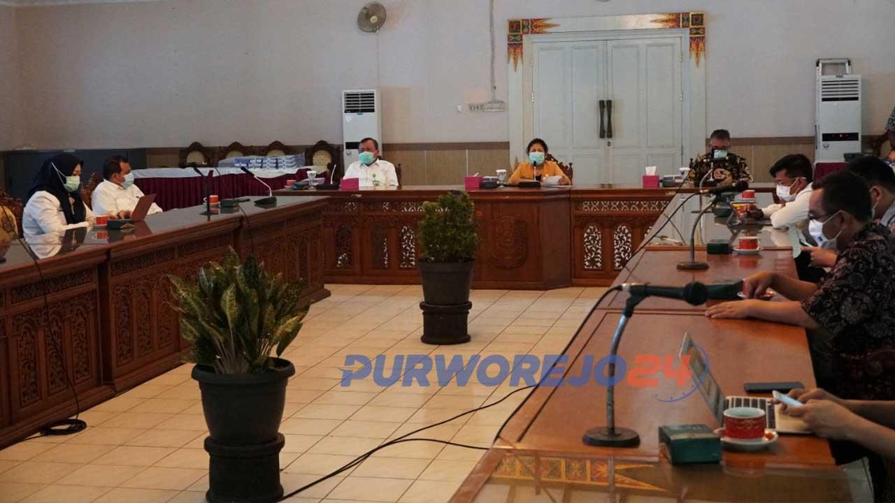 Pemkab Purworejo membentuk Satuan Tugas Penanganan Corona Virus Disease 2019, menggantikan Gugus Tugas Percepatan Penanganan Corona Virus Disease 2019
