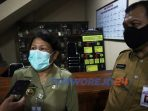 Pjs Bupati Yuni Astuti saat memebri konfirmasti terkait ASN yang melakukan pelanggaran netralitas dalam Pilkada