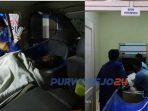 Evakuasi warga binaan Rutan Purworejo yang ditemukan tewas di ruangan rumah tahanan.