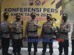 Konferensi pers akhir tahun Polres Purworejo