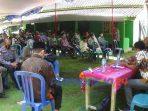 Pertemuan ganti rugi pengadaan tanah untuk pembangunan bendungan Bener, (7/1/2021)