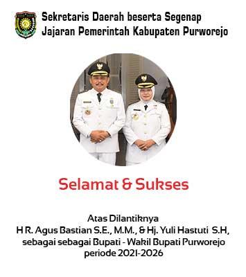 Pelantikan Bupati dan Wakil Bupati Purworejo