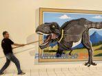 Salah satu spot lukisan 3D di BSI Fantasi