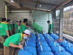 Baznas Propinsi Jawa Tengah mengelar pelatihan pengolahan sampah untuk perwakilan Ponpes se-Jateng di SMKN 1 Purworejo