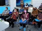 Bupati Purworejo Agus Bastian saat Forum CVP secara virtual di Command Center, Kamis (28/5/2021)