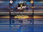 Mobile Legends Purworejo Competition (MLPC) yang diadakan Pengurus Besar E-Sports Indonesia (PBESI) Kabupaten Purworejo
