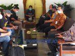 Rapat koordinasi panitia acara dengan gugus tugas Covid-19 kecamatan Kutoarjo
