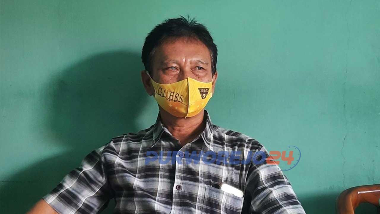 Suami DMM (terduga tersangka pemalsuan kasus Korupsi Propendakin tahun 2018).